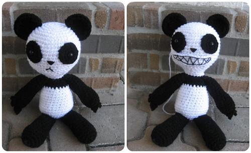 Scary Panda
