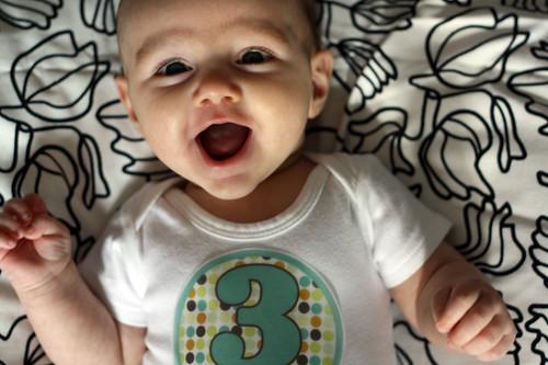 jus' a happy bebe.