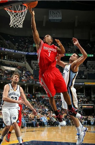 December 3rd, 2010 - Kyle Lowry scores two of his career-high 28 points against the Memphis Grizzlies