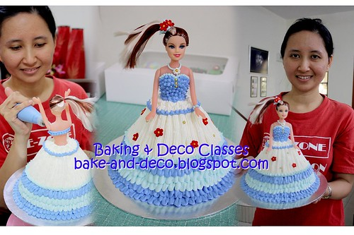 Batch 20 Nov 2010: Buttercream Doll Cake