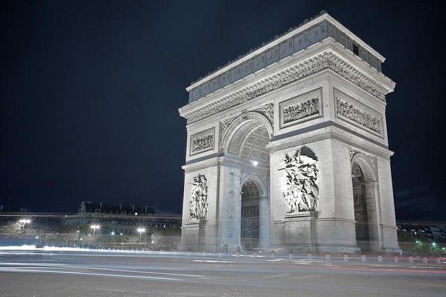 Arc Du Triomphe - Long Exposure