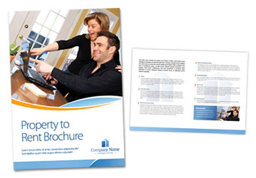 Property To Rent Brochure Template