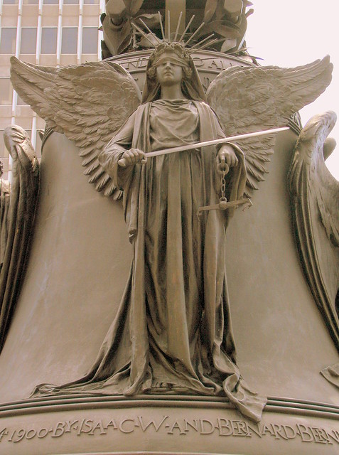 Louisville's Thomas Jefferson Statue: Justice