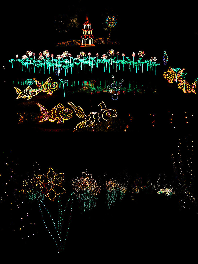 Bellingrath Gardens Christmas lights 20
