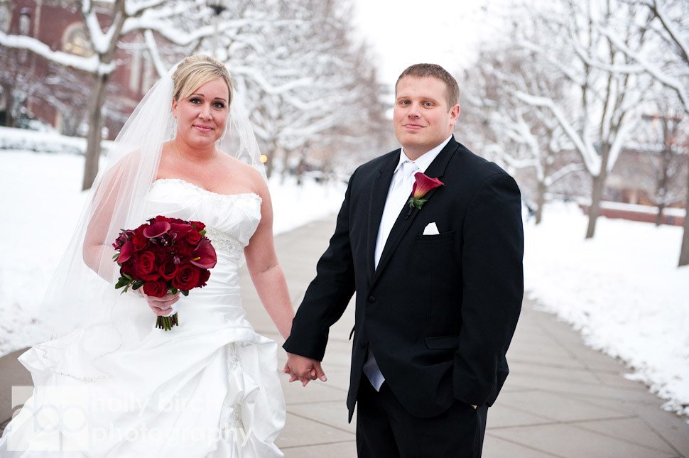 Lindsey + Chris | Champaign Hilton & Holy Cross wedding