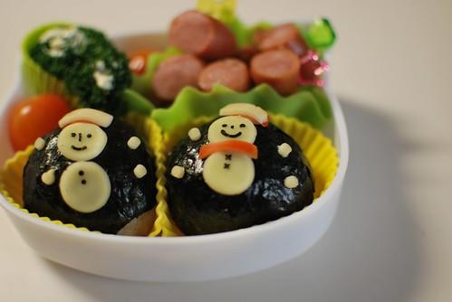 lunch box_snowman