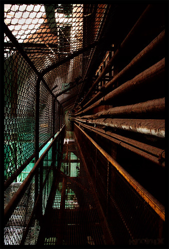 rusty catwalk