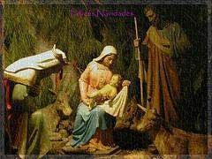 Adoración de los Reyes (Guijo Córdoba fotografía) Tags: texture textura navidad card postal merrychristmas nacimiento nikone2500 belén feliz2010 guijocordoba