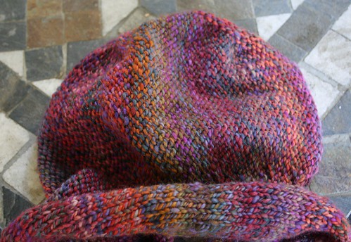 hat is taking shape
