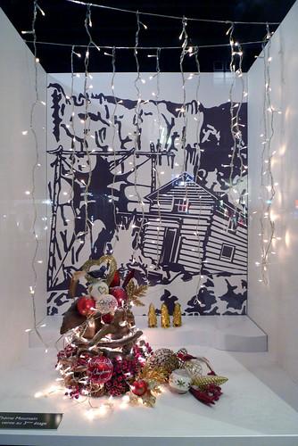 Vitrines de Noël de Globus - Genève, decembre 2010