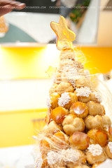 Croquembouche (Chisa) Tags: christmas food baking pastry canberra croquembouche