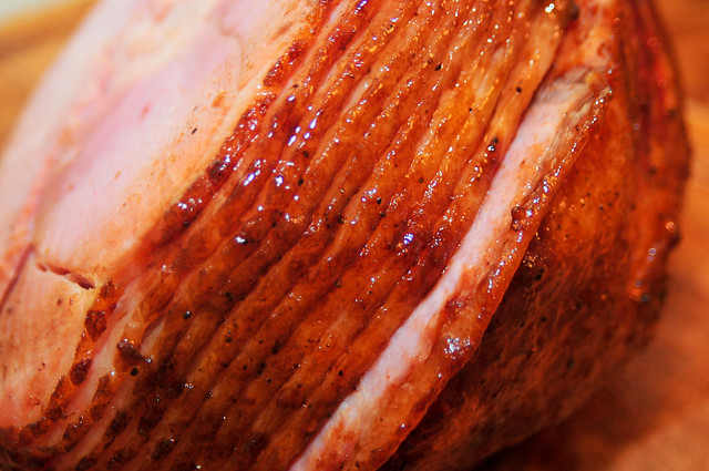barbecue recipe mustard whiskey glazed ham the meatwave