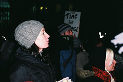 Dail Protest 7.12.10 Pic (37) (Anthony Cronin) Tags: ireland analog superia protest protests  protestors c41 irelanddublin bailout fuji irishlife street photography march crisis 200 dublinlife protest bank irish faces dublinirish protest streetsdublin dublinliving tpastreet dublinirelandnikonf8050mmf14d24mmf28danthonycroninanalogapug35mmfilmallrightsreservedirishphotographystreetsdublinstreetphotographystreetsofdublin antigovernment antieu antiimf irelands bailout 71210budget2010 photangoirl