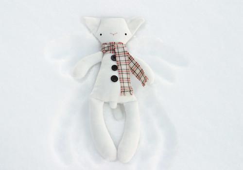 Frosty snowangel