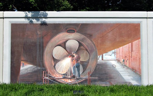 flood wall mural (by: Kym Garcia, creative commons license)