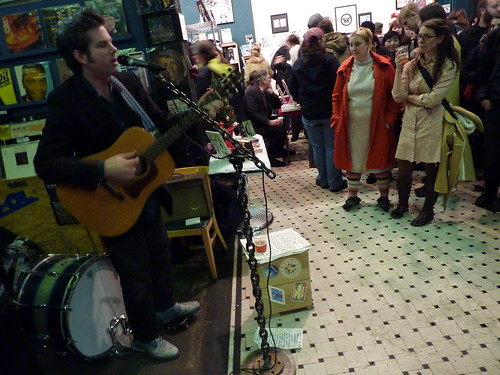 Mark Pickerel performs, Fantagraphics Bookstore & Gallery, Dec. 11, 2010
