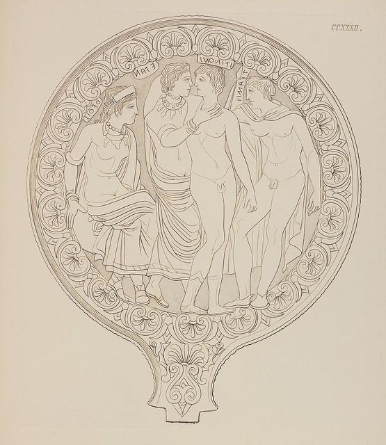 Etruskische Spiegel by Eduard Gerhard, 1840s i
