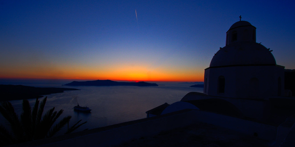 Day 123 - Santorini Sunset