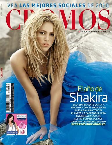 Shakira en Revista Cromos