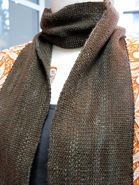 Knitting Linen Stitch Bind Off : Finished Linen Stitch Scarf > amy a la mode