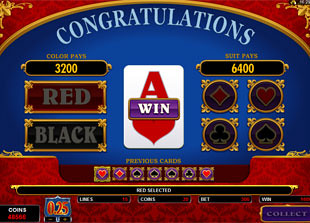 free Kings of Cash gamble feature win