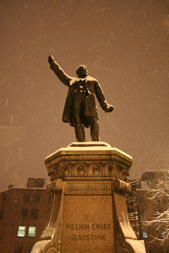 Manchester by Night: Snowy Days