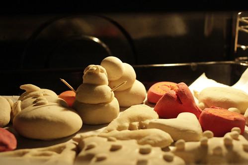 Ένας έρωτας στο φούρνο από το αλεύρι που φουσκώνει