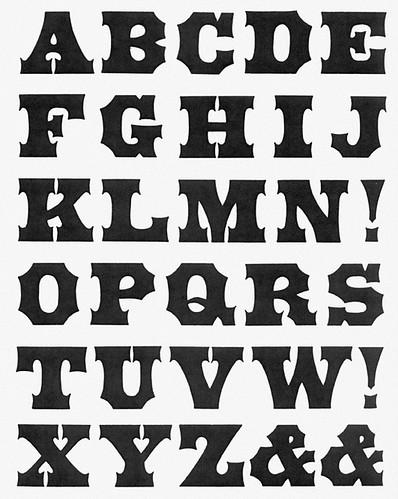 type specimen 3 T web