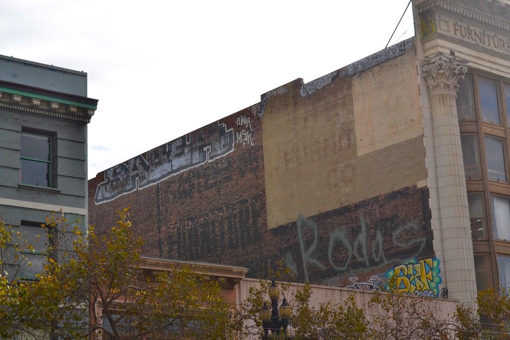 SABER, MSK, AWR, Graffiti, San Francisco, Street Art