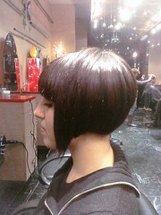 hair by Kiss (Tmrrw Never Knows) Tags: hair mod bob sharp glossy short bangs shin graduated shapely edgy
