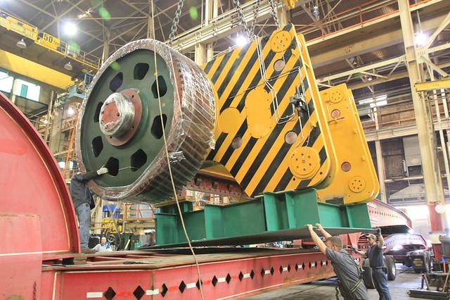 Bullnose gear shipping