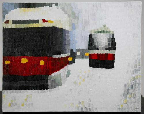 Toronto Streetcars in Winter