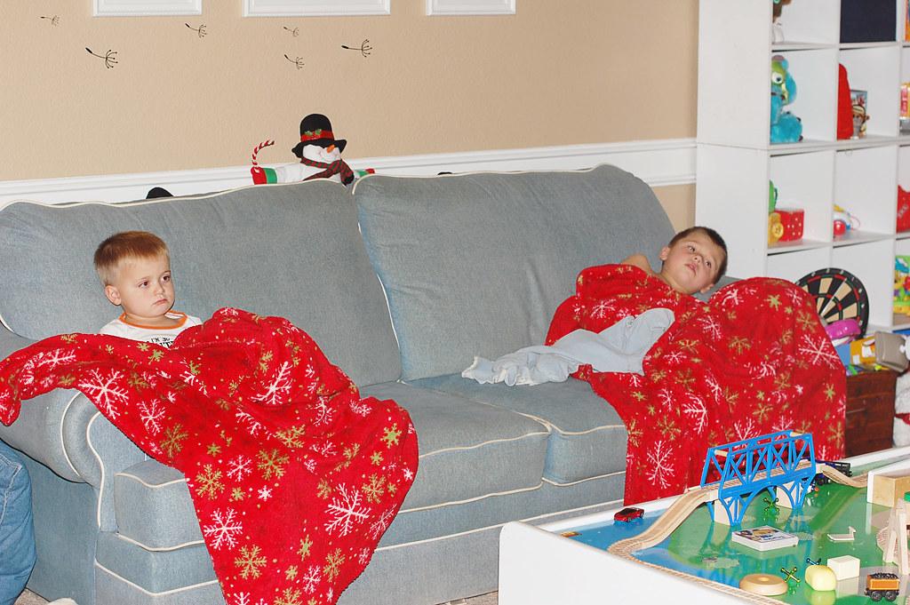 boys Christmas 2010