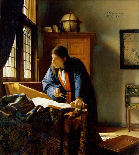 """vermeer """"The Geographer"""""""
