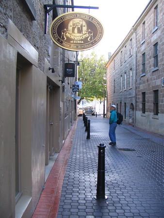 Hobart side street