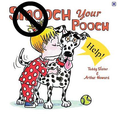 don't smooch your pooch