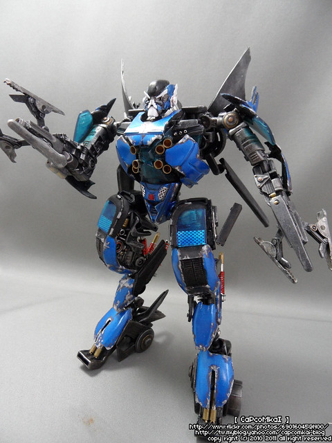 Transformers Custom Rotf Movie Accurate Jolt