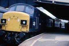 class 45053 at Dawlish Aug 79 (Karel1999 Over a Million views ,many thanks) Tags: trains peaks britishrail locomotives dawlish 45053