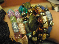 Bracelets with new beads