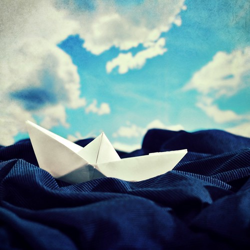 The tide is out, the moon is high, we're sailing..