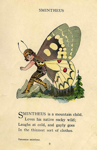 001-The Butterfly Babies' Book 1914- Elizabeth Gordon- Illustrated by M. T. Ross