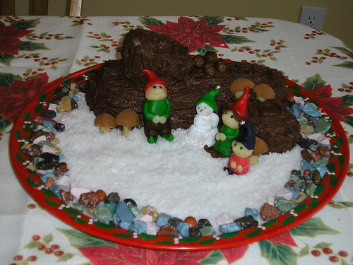 Bûche de Noël 2010 - 1