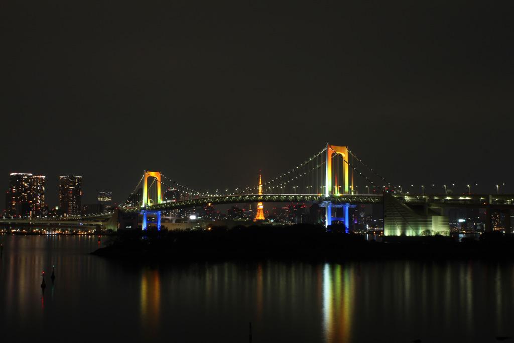 Rainbow bridge illumination 11(TOKYO)