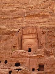 Rock Carving. By Ian Layzell (IANLAYZELLUK) Tags: asia tomb petra middleeast carving jordan tombs jordanian rockcarving november2010 ianlayzell