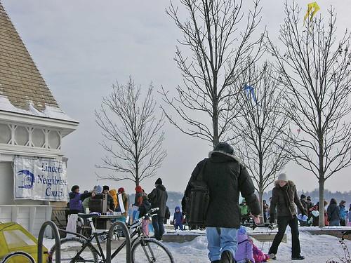 Winter Kite Festival 2008 hot cocoa