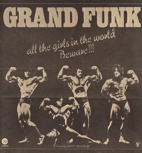 01/30/75 Grand Funk - All The Girls In The Worl Beware!!! (Album Ad)