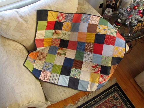Nephew's new quilt