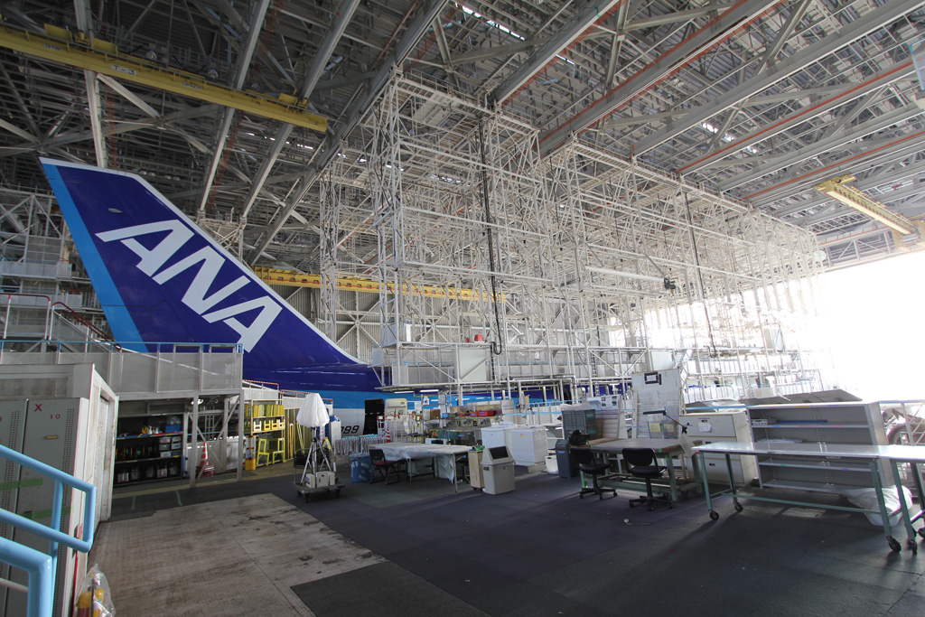 ANA Airplane Maintenance Center (12)