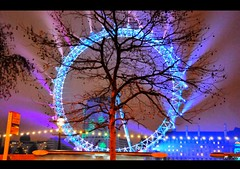 London Eye in winter (raghavvidya) Tags: new eve winter london eye festival thames project big ben year londoneye explore newyears 365 edition frontpage westminister 2010 2011 project365 worthprotecting raghavvidya 3652011
