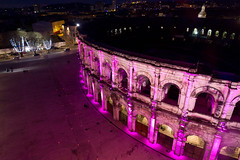 Arenes de Nimes (matth30) Tags: france night nightshot amphitheatre nimes gard arenes
